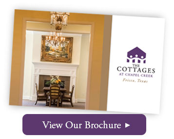 The Cottages at Chapel Creek Brochure