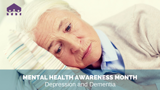 Cottages - Mental Health Month - Depression and Dementia